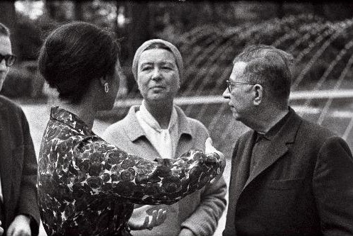Jean-Paul Sartre et Simone de Beauvoir en Estonie soviétique