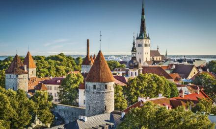 Les villes d'Estonie : Tallinn, Tartu, Pärnu, Narva