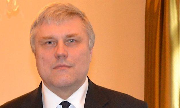 Rencontre avec l'Ambassadeur d'Estonie en France, à Paris le 12 juin