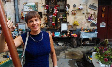 Rencontre avec la poétesseMaarja Kangro, <br>le 18 octobre à Paris