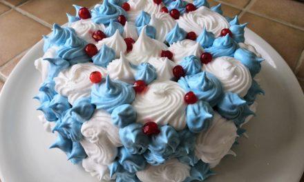 Sefiiritort – gâteau à la meringue italienne