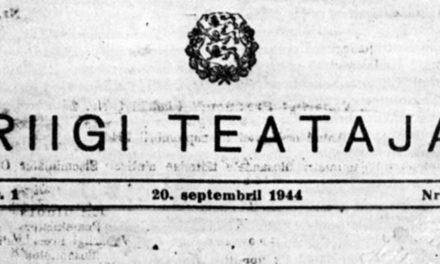 Les cinq jours où l'Estonie a retenu son souffle : 17-22 septembre 1944