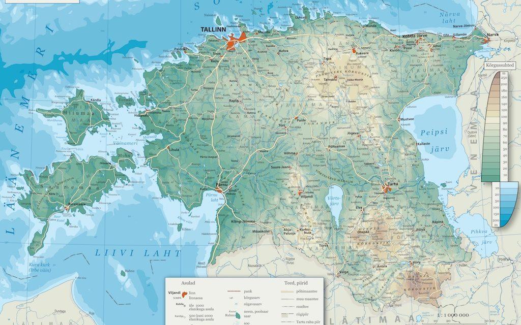 Géographie physique de l'Estonie