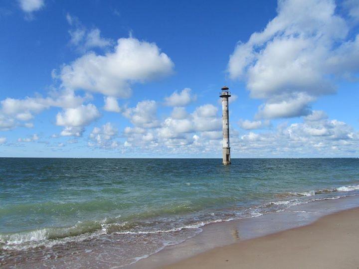 Saaremaa, le phare de Kiipsaare Photo de Marianne Février