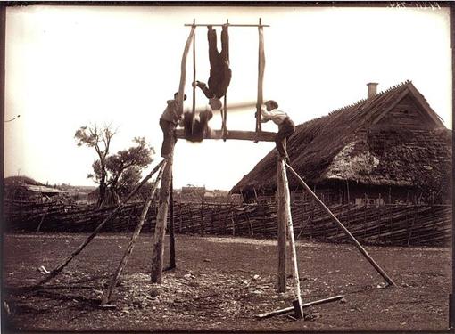Balançoire à Saaremaa