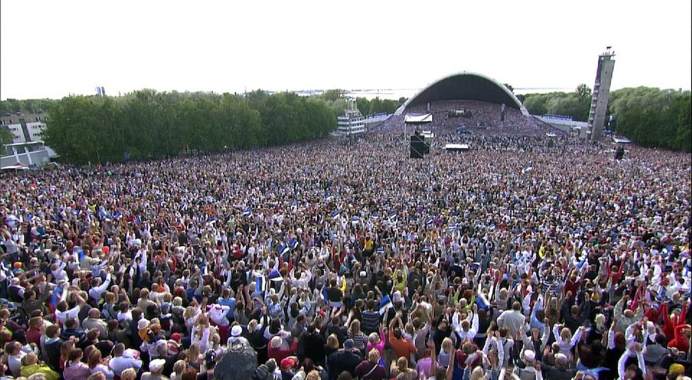 La fête du chant choral, <br>vecteur de l'identité estonienne