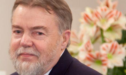 Le poète Jüri Talvet <br>à la Bibliothèque nordique le 7 juin