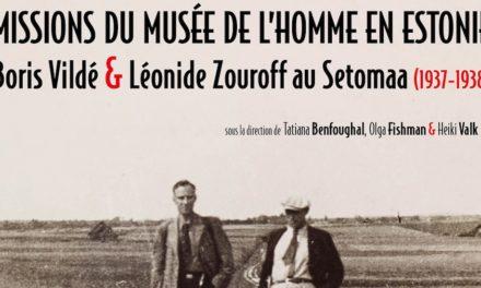 Un nouvel ouvrage sur les Setos présenté à Paris le 4 décembre