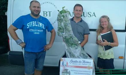 un jardin paysager moissagais sera planté en Estonie