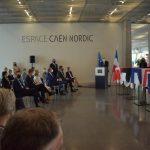 La ville de Caen a inauguré l'Espace Caen-Nordic à la bibliothèque Alexis-de-Tocqueville le 28 mai dernier