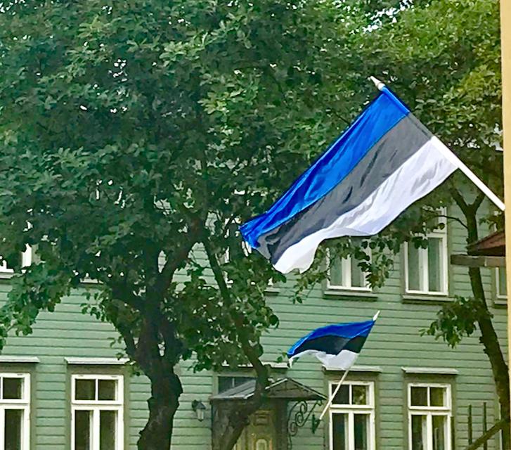 Quand l'Estonie hisse ses couleurs